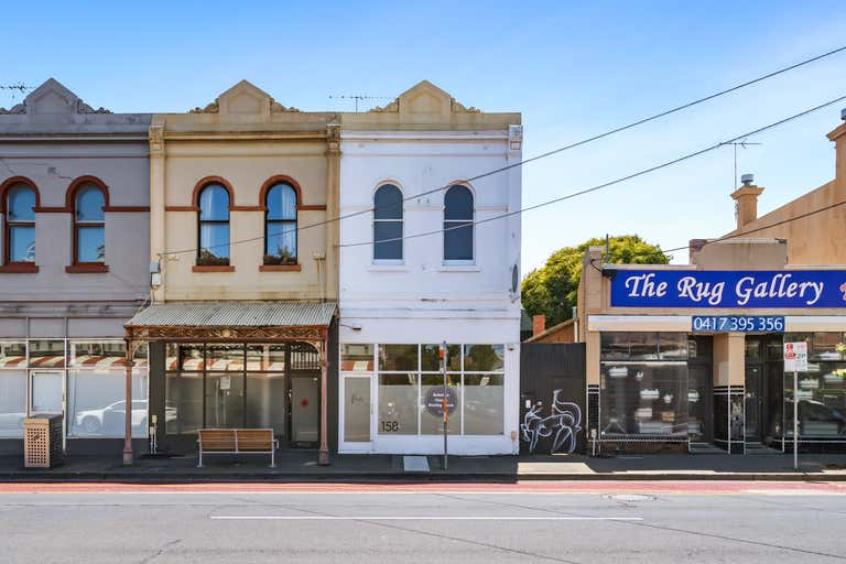 Shop with upstairs rooms, 158 Johnston St Collingwood VIC 3066 - Image 1