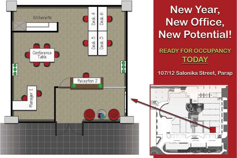 Suite 107, 12 Salonika Street Parap NT 0820 - Image 1