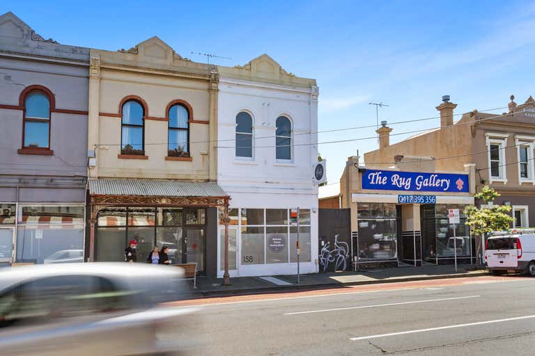 Shop with upstairs rooms, 158 Johnston St Collingwood VIC 3066 - Image 2