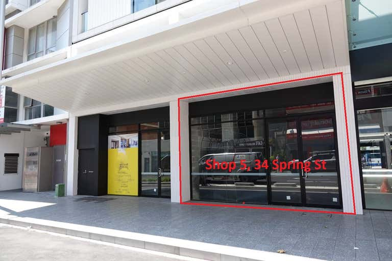 Shop 5, 34 Spring Street Bondi Junction NSW 2022 - Image 1