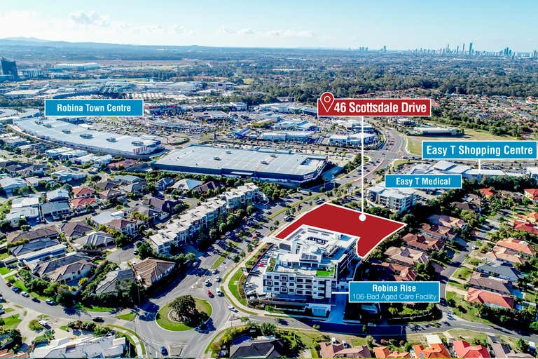 Approved Mixed Use Site, 46 Scottsdale Drive Robina QLD 4226 - Image 1