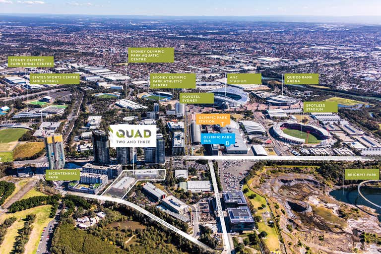 Quad Business Park, 102 Bennelong Parkway Sydney Olympic Park NSW 2127 - Image 2