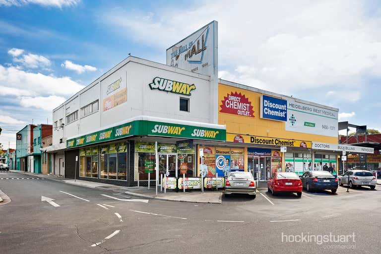 1st Flr, 15-23 The Mall Bell Street Heidelberg West VIC 3081 - Image 1