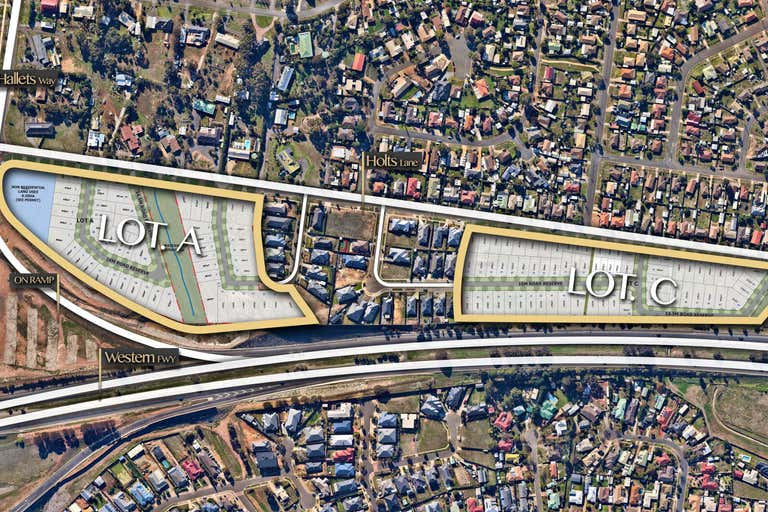 Lot A and Lot C Holts Lane Bacchus Marsh VIC 3340 - Image 2