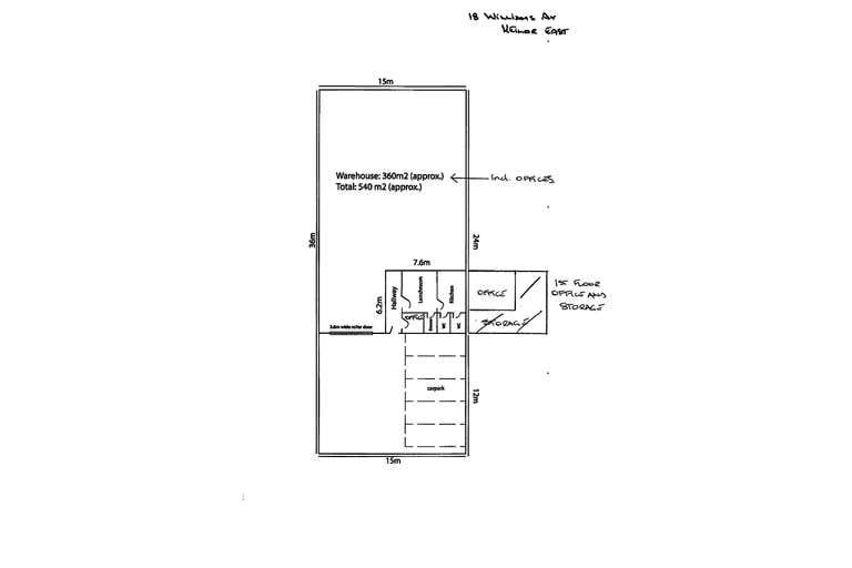18 Williams Avenue Keilor East VIC 3033 - Floor Plan 1