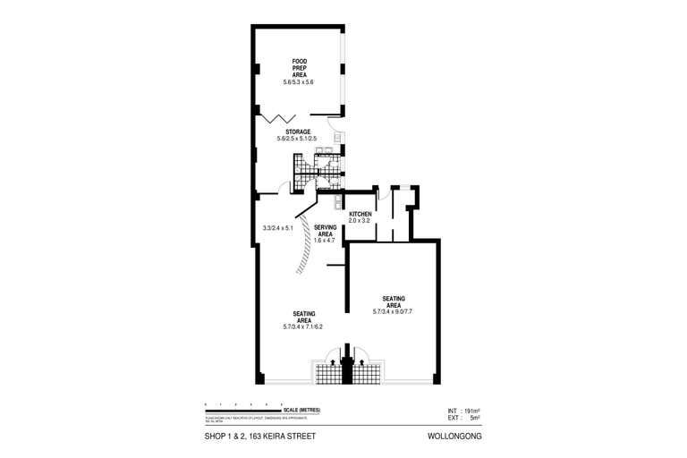 1 & 2/163 Keira Street Wollongong NSW 2500 - Floor Plan 1