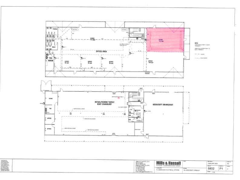 Northside at Hillarys, Suite 2, 45 Northside Drive Hillarys WA 6025 - Floor Plan 1