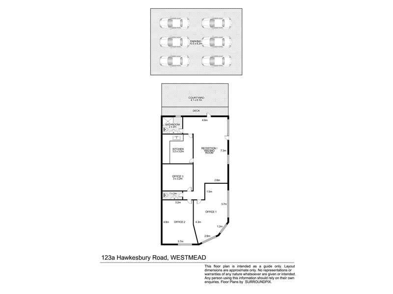 123a Hawkesbury Road Westmead NSW 2145 - Floor Plan 1
