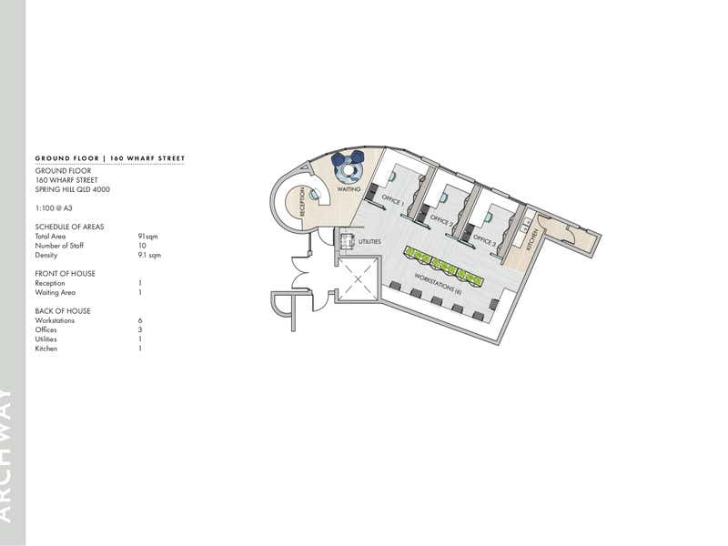 160 Wharf Street Spring Hill QLD 4000 - Floor Plan 2