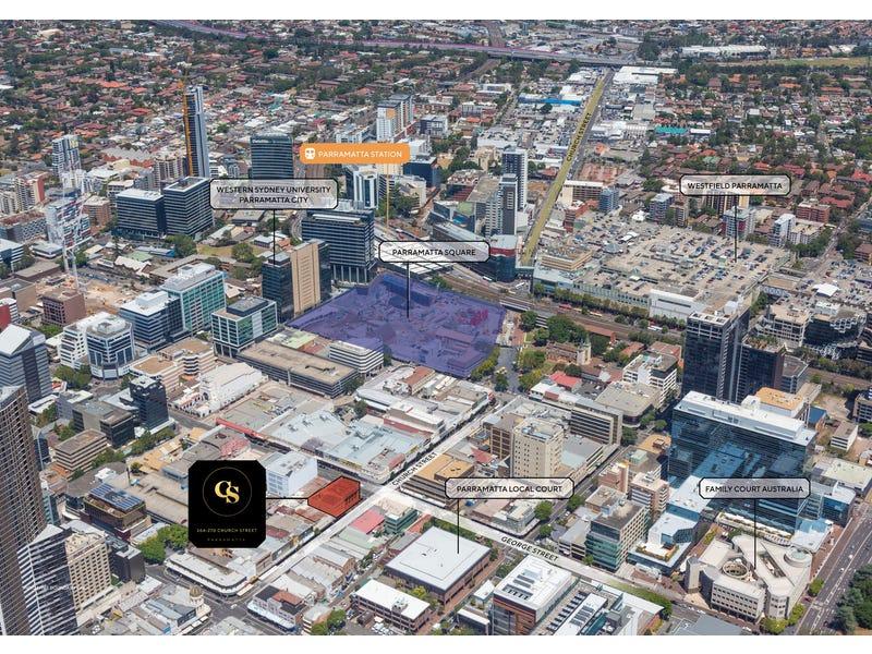 264-270 Church Street, Parramatta, NSW 2150