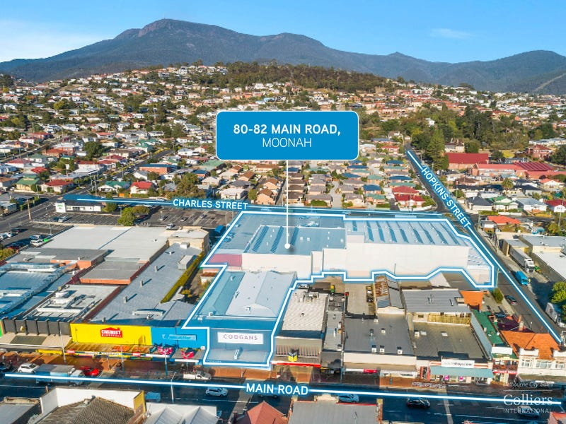 Coogans Retail Portfolio, 80-82 Main Road, Moonah, Tas 7009