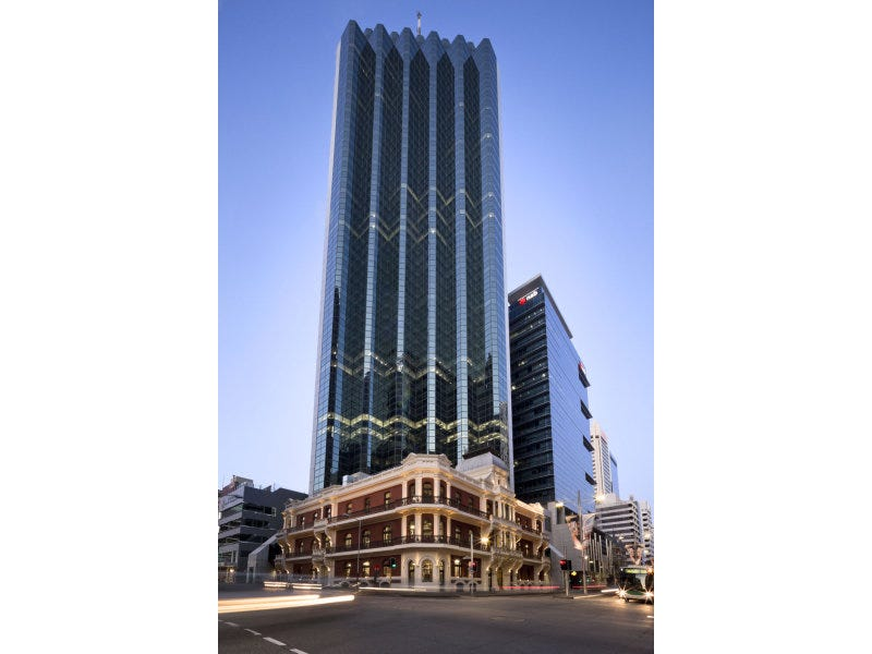 108 st georges terrace perth wa 6000 offices property for 5 st georges terrace perth