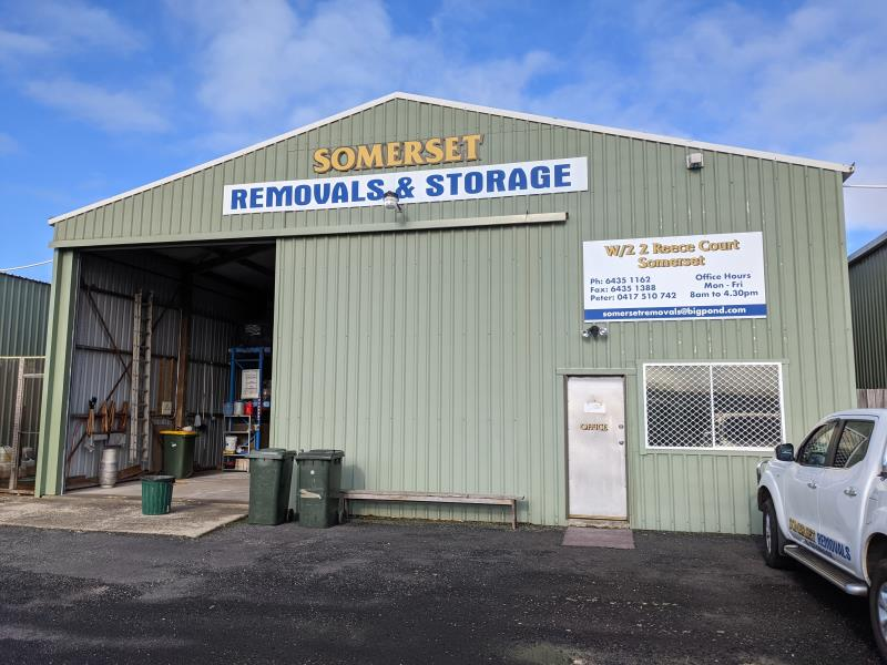 Somerset Removals and Storage, Unit 1 and Unit 2, 2 Reece  Court, Somerset, Tas 7322