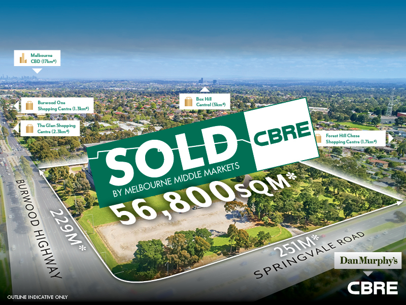 353-383 Burwood Highway, Forest Hill, Vic 3131