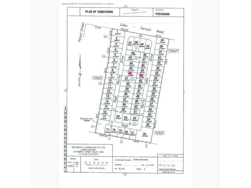 45 Hugh Murray Drive Colac VIC 3250 - Floor Plan 1