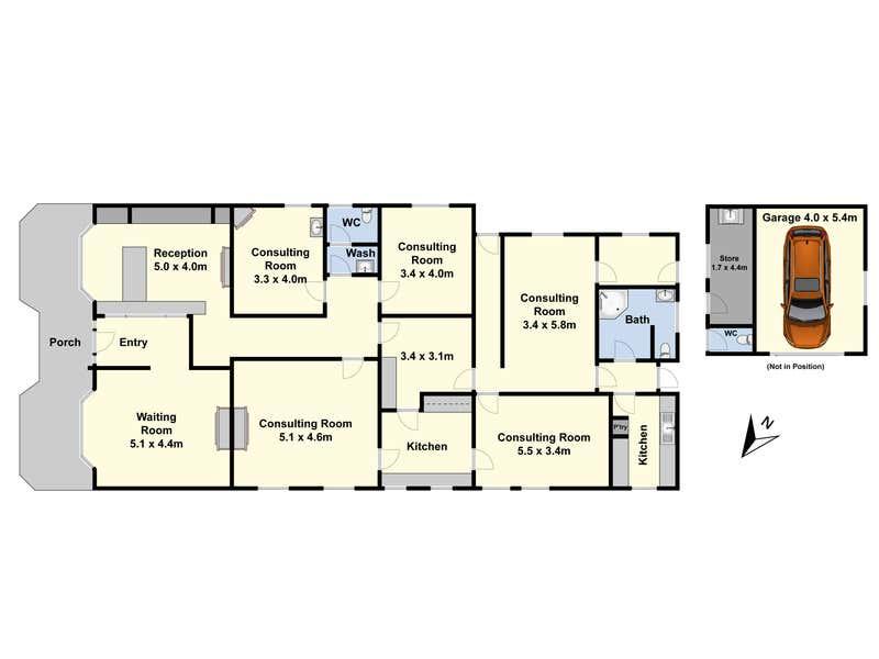 246 Malop Street Geelong VIC 3220 - Floor Plan 1