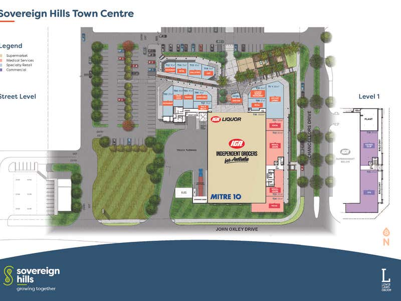 Sovereign Hills Town Centre, 528 John Oxley Drive Port Macquarie NSW 2444 - Floor Plan 1