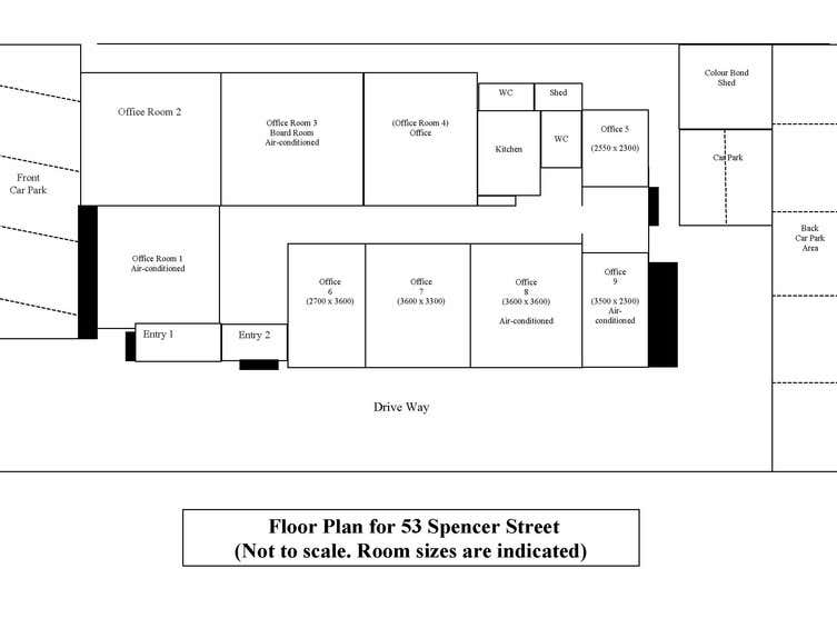 The Print Shop Bunbury, 53 Spencer Street Bunbury WA 6230 - Floor Plan 1