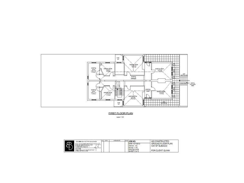 31 Hay Street Subiaco WA 6008 - Floor Plan 1