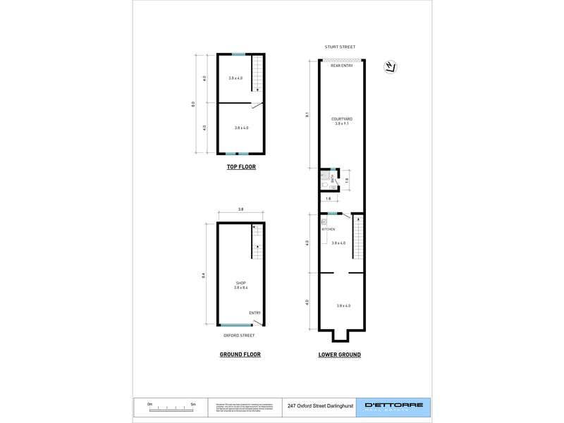 247 Oxford Street Darlinghurst NSW 2010 - Floor Plan 1