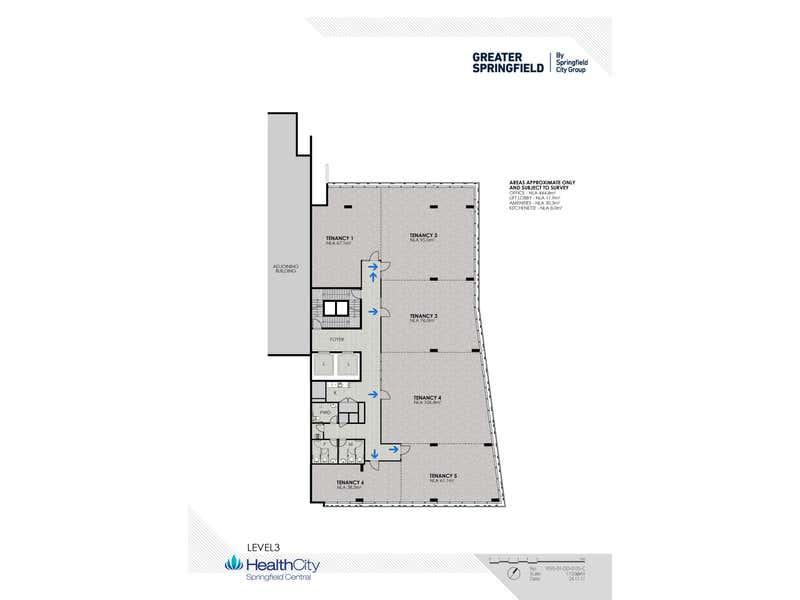 Springfield Specialist Suites, 1 Wellness Way, Springfield QLD 4300 - Floor Plan 1