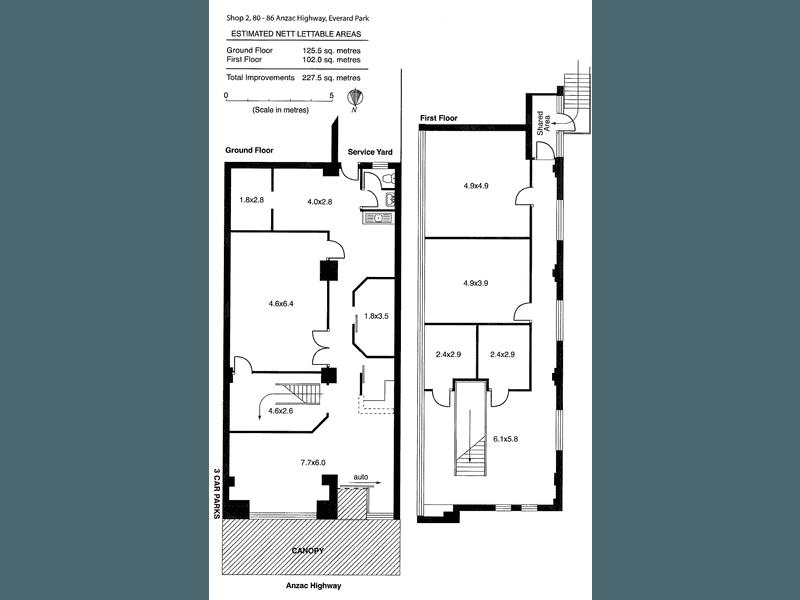 Shop 2, 80-86 Anzac Highway Everard Park SA 5035 - Floor Plan 1