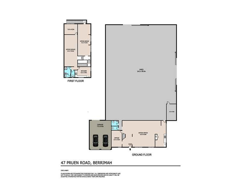 47 Pruen Road Berrimah NT 0828 - Floor Plan 1