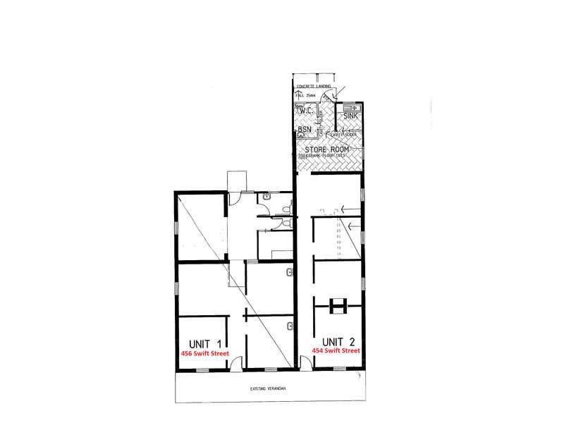 456 Swift Street Albury NSW 2640 - Floor Plan 1
