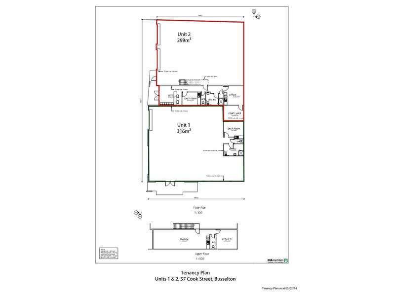 Unit 1, 57 Cook Street Busselton WA 6280 - Floor Plan 1