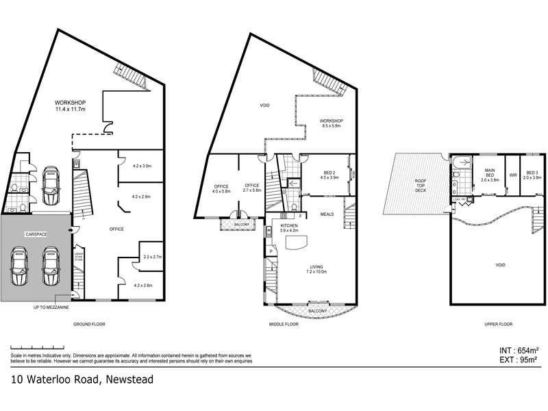10 Waterloo Street Newstead QLD 4006 - Floor Plan 1
