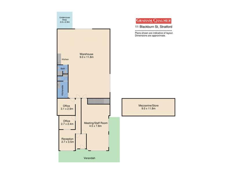 11 Blackburn Street Stratford VIC 3862 - Floor Plan 1