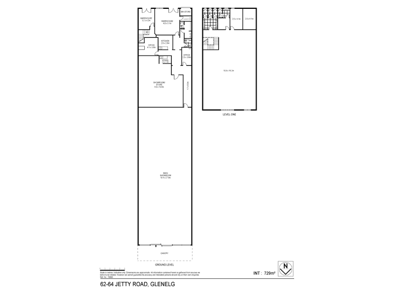 62-64 Jetty Road Glenelg SA 5045 - Floor Plan 1