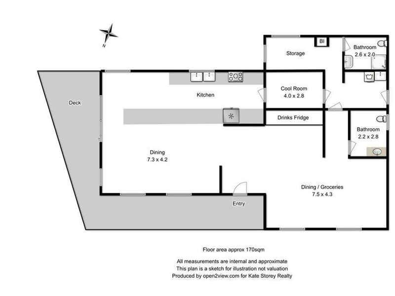 12 Caribbean Court Eaglehawk Neck TAS 7179 - Floor Plan 1