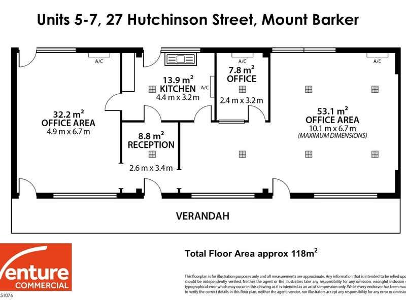 5-7, 27 Hutchinson Street Mount Barker SA 5251 - Floor Plan 1