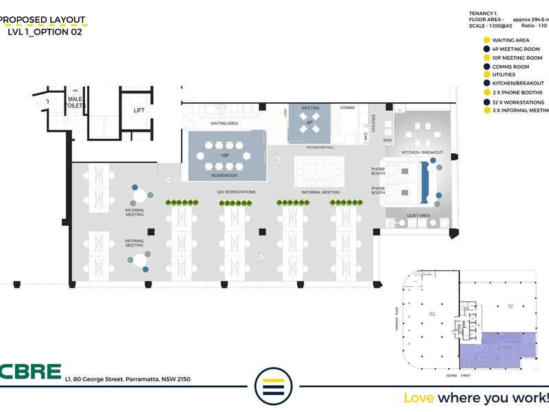 80 George Street Parramatta NSW 2150 - Floor Plan 2