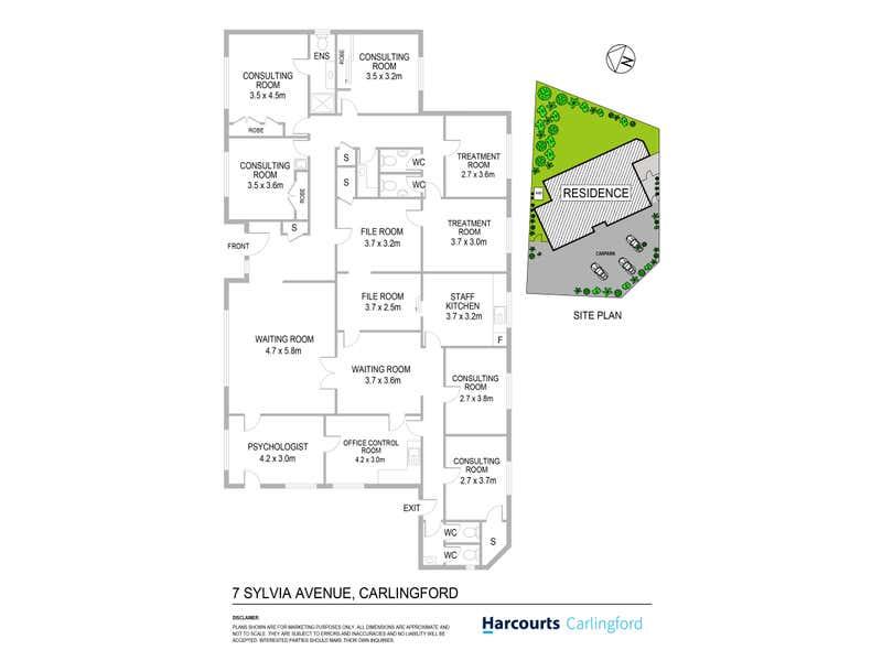 7 Sylvia Avenue Carlingford NSW 2118 - Floor Plan 1