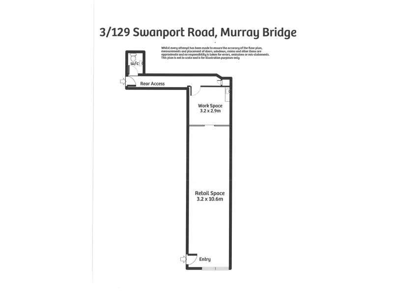 3/129 Swanport Road Murray Bridge SA 5253 - Floor Plan 1