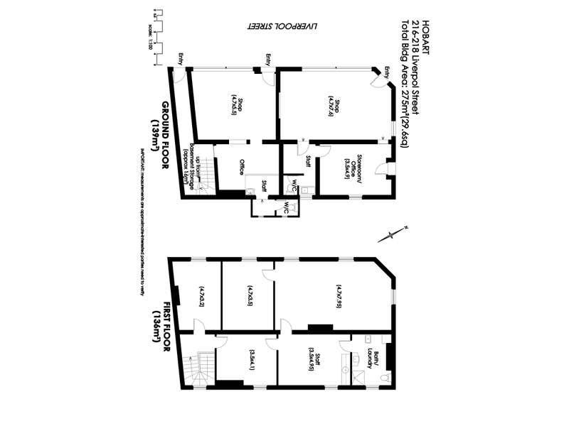 216-218 Liverpool Street Hobart TAS 7000 - Floor Plan 1