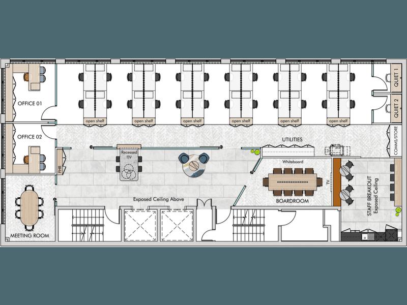 Level 7, 26 Wharf Street Brisbane City QLD 4000 - Floor Plan 1
