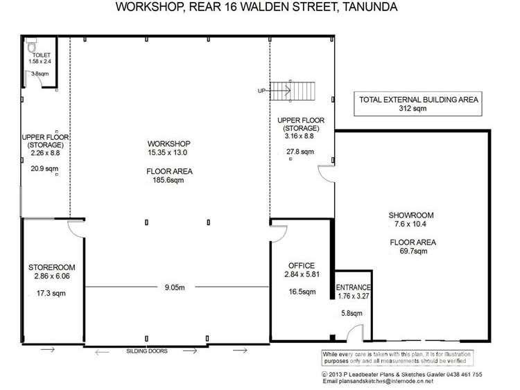 16 Walden  Street Tanunda SA 5352 - Floor Plan 2