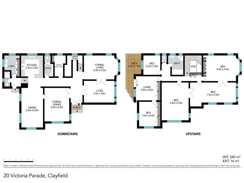 20 Victoria Parade Clayfield QLD 4011 - Floor Plan 1