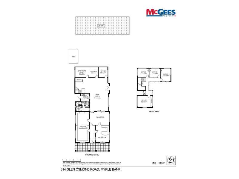 314 Glen Osmond Road Myrtle Bank SA 5064 - Floor Plan 1