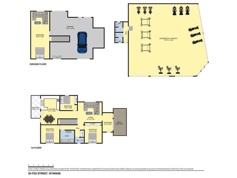 29 Fox Street Wynnum QLD 4178 - Floor Plan 1