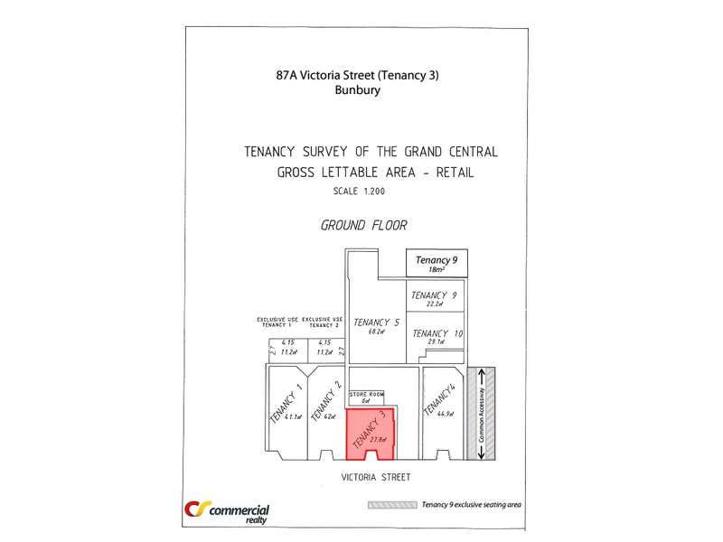 Tenancy 3, 87A Victoria Street, Bunbury, WA 6230, Shop