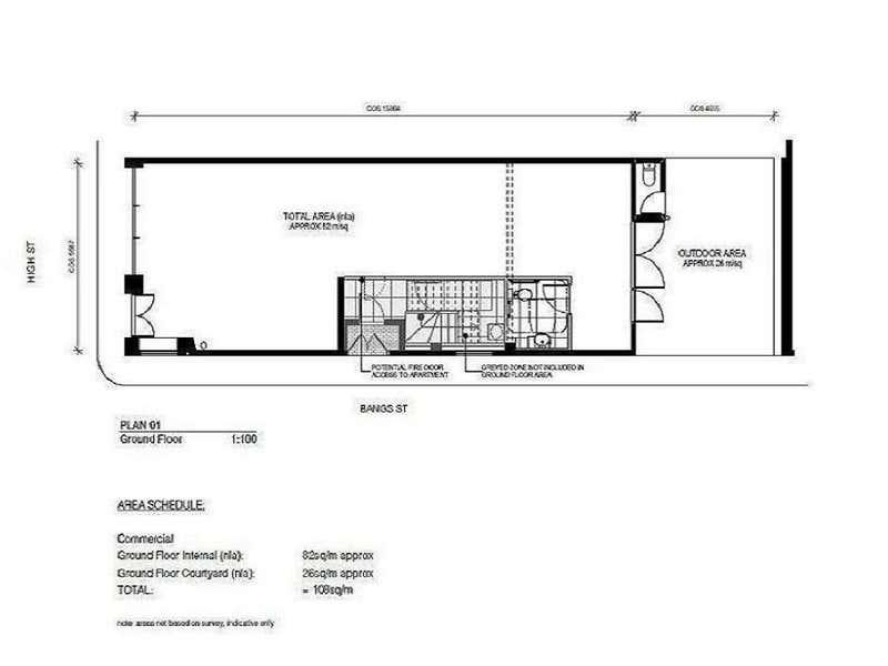 251 High Street Prahran VIC 3181 - Floor Plan 1