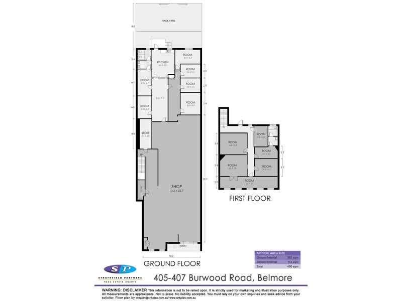 Unit 405-407 405-407 Burwood Road Belmore NSW 2192 - Floor Plan 1