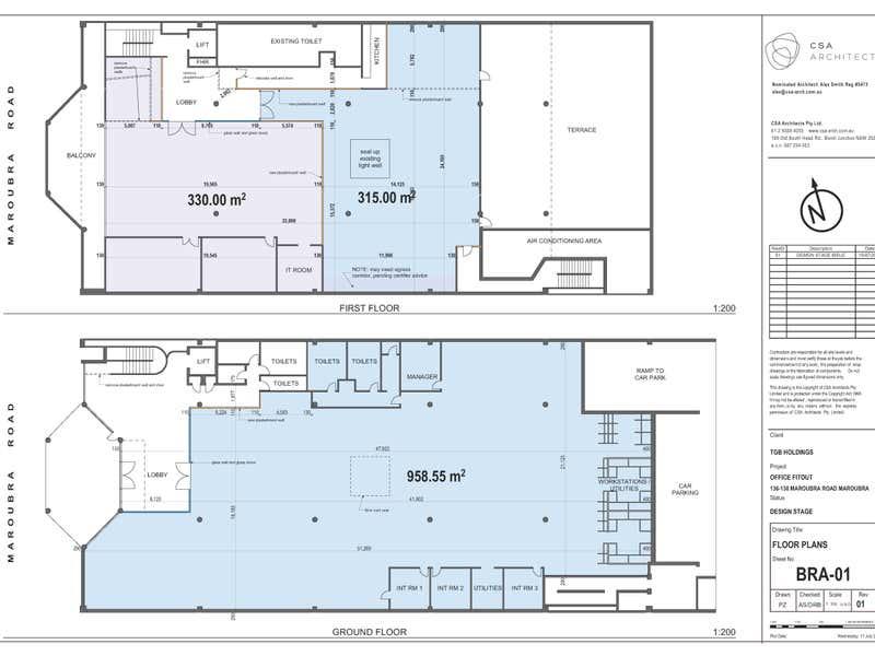 136-138 Maroubra Road, Maroubra, 136-138 Maroubra Road Maroubra NSW 2035 - Floor Plan 1