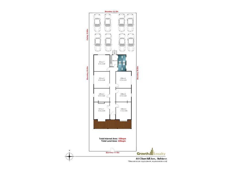 64 Churchill Avenue Subiaco WA 6008 - Floor Plan 1