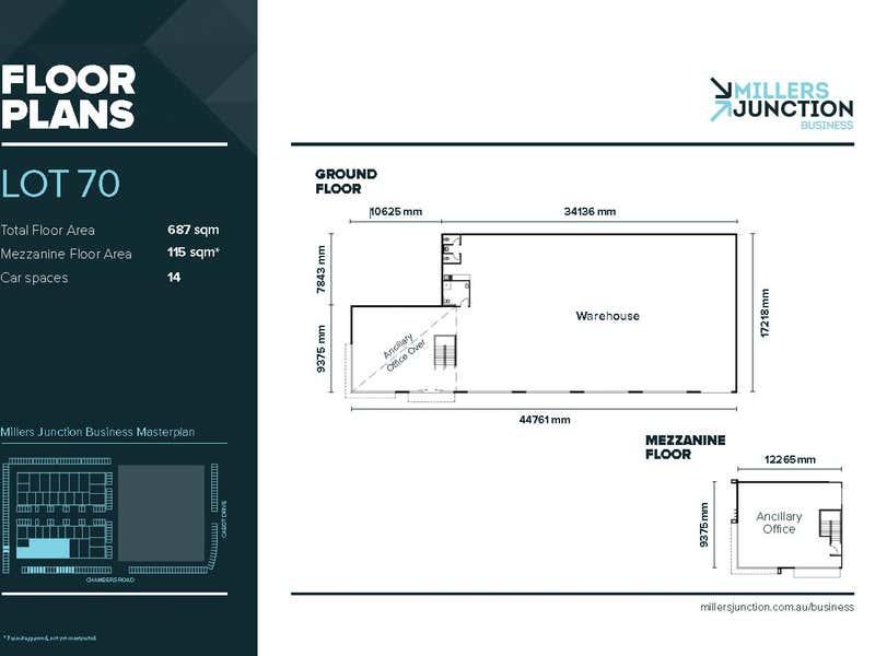 Millers Junction Business Park, 1 Gilbert Drive Altona North VIC 3025 - Floor Plan 1