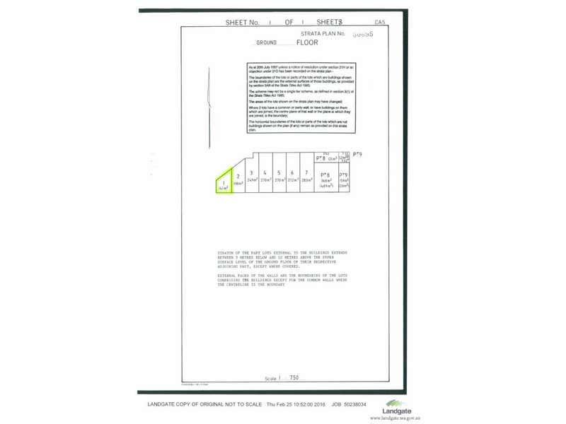 1/117-119 Dixon Road East Rockingham WA 6168 - Floor Plan 1